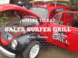 Baler Surfer Grill