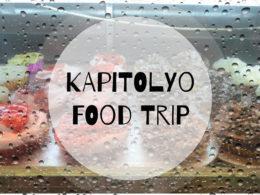 Kapitolyo Food Trip