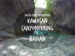 kawasan canyoneering