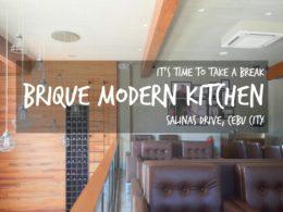 BRIQUE Modern Kitchen