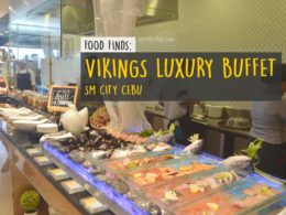 Vikings Luxury Buffet SM City Cebu