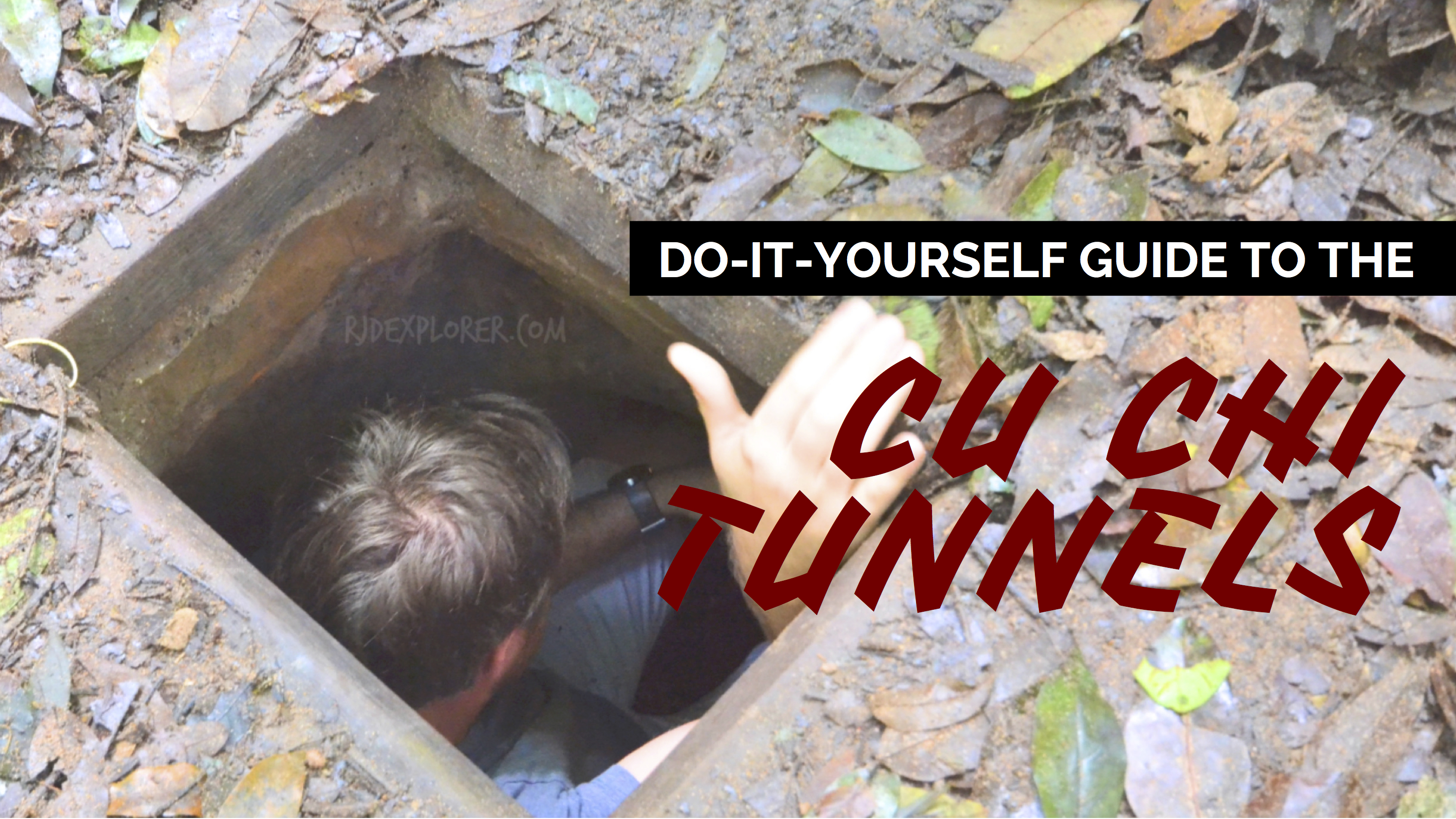 HO CHI MINH CITY | Down the Secret Passages of Cu Chi Tunnels - iWander. iExperience. iKwento