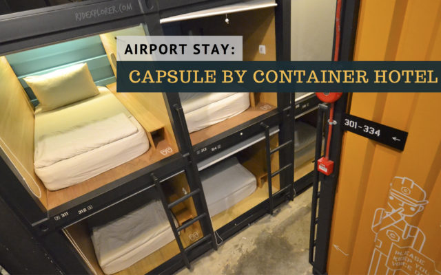 CAPSULE by Container Hotel