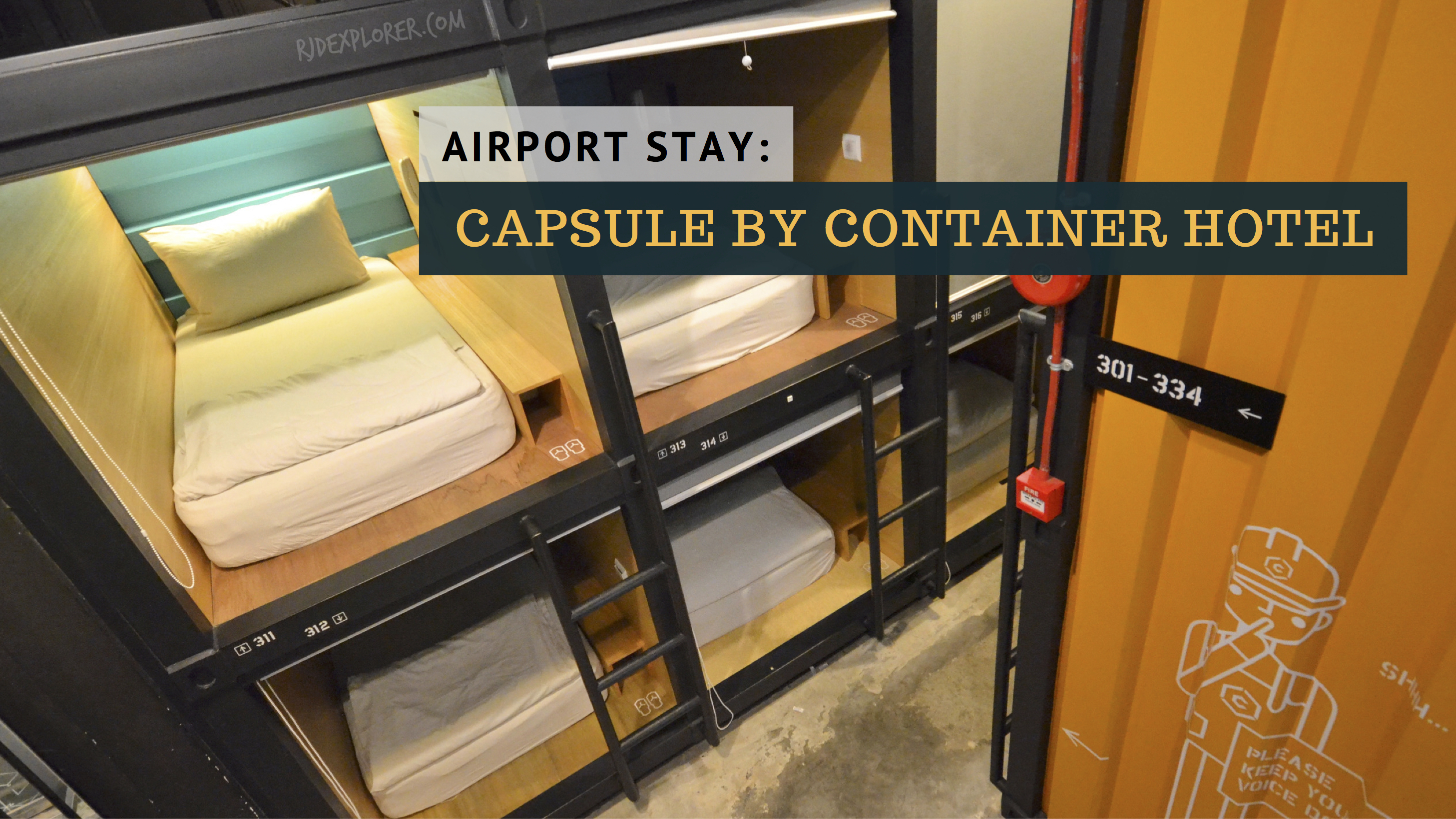 KUALA LUMPUR   CAPSULE by Container Hotel at KLIA2