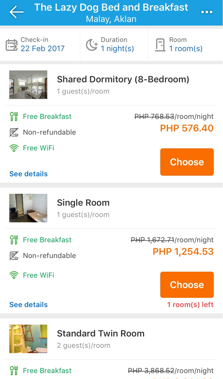 traveloka hotel booking app