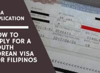 south korean visa