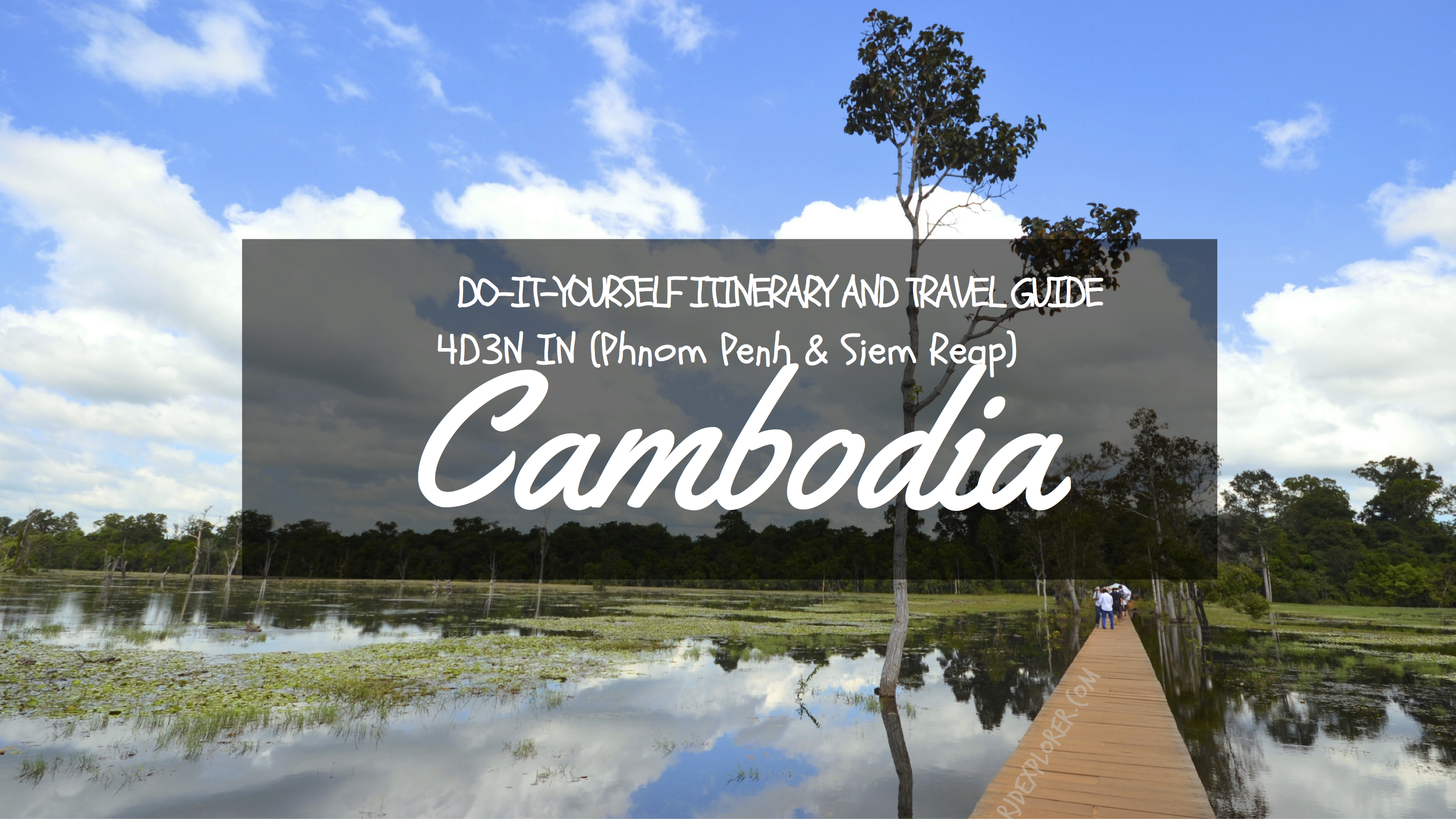 Diy Itinerary And Travel Guide 4d3n Phnom Penh And Siem