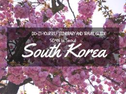 seoul itinerary diy guide