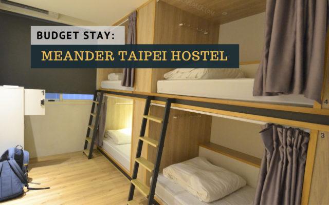 meander taipei hostel