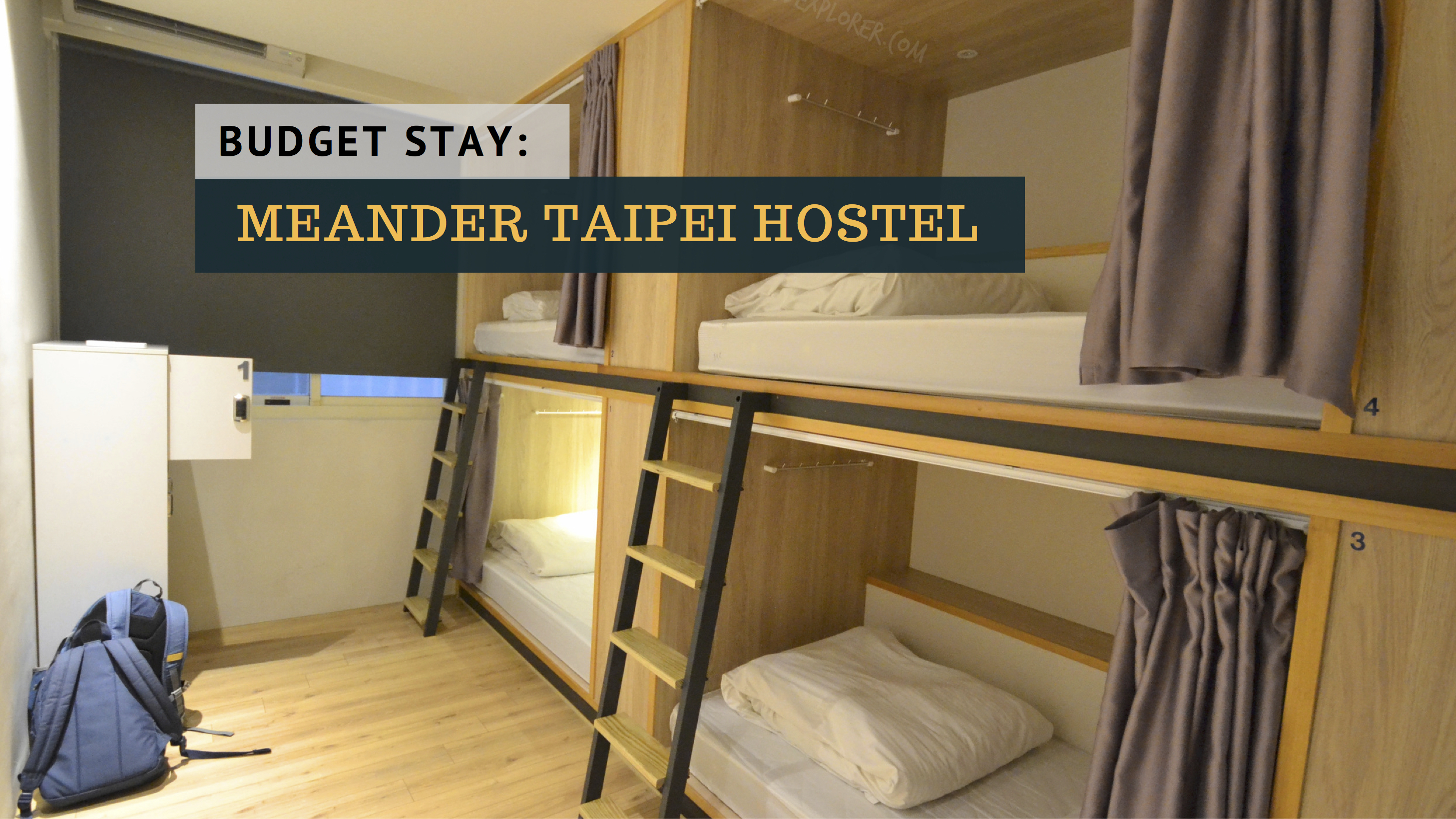 A Small Corner In Ximending Guesthouse Taipei Excellent Stay At Ximen Corner Hostel Iwander