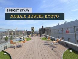 mosaic hostel kyoto