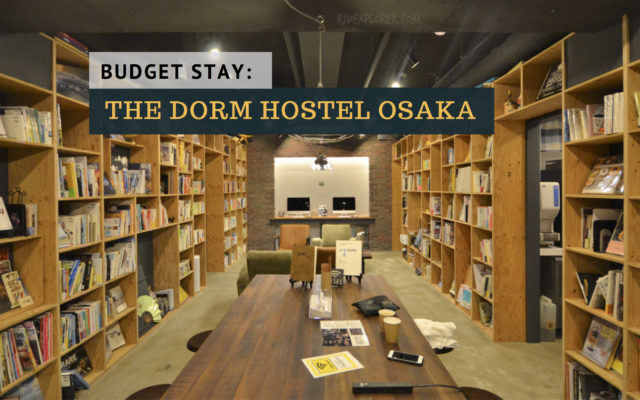 the dorm hostel osaka