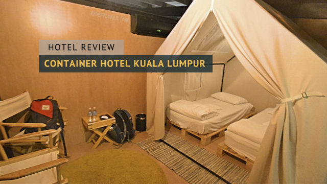 container hotel kuala lumpur