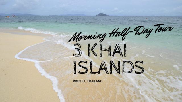 3 khai islands phuket