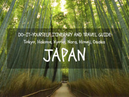 japan itinerary two weeks
