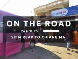 siem reap to chiang mai