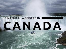 natural wonders canada