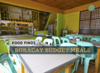 boracay budget meal guide