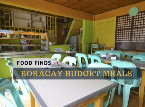 boracay budget meal guide