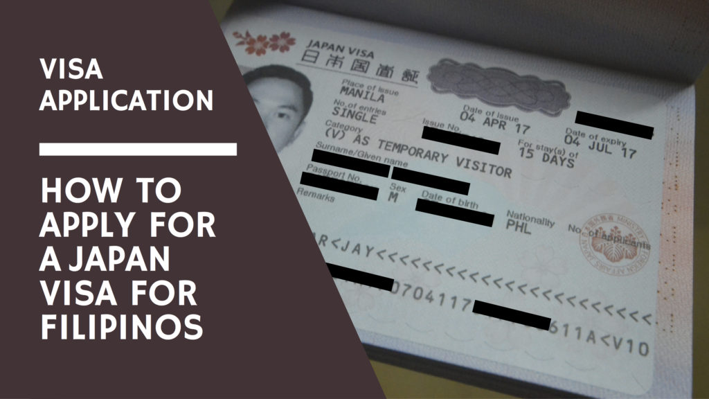 Visa Application How To Apply For A Japan Visa For