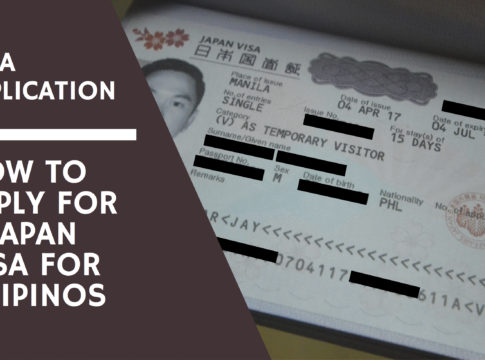 japan visa application for filipinos