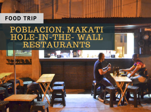 poblacion makati hole-in-the-wall restaurants