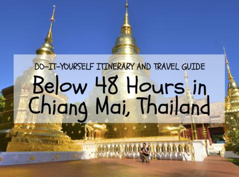 chiang mai itinerary thailand