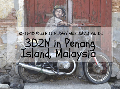 penang island itinerary travel guide