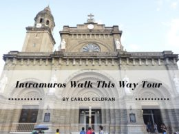 intramuros walk this way tour