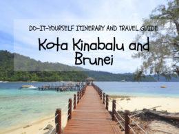 kota kinabalu brunei itinerary