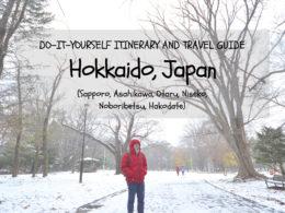 Hokkaido Itinerary Travel guide