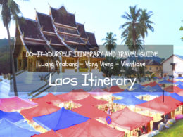 laos itinerary diy