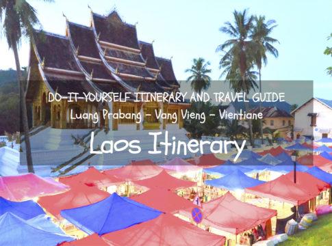 laos itinerary diy