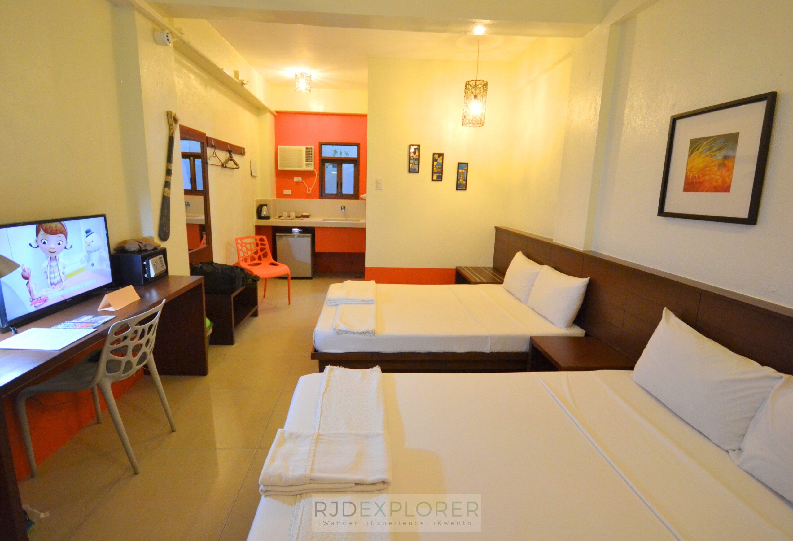 agos boracay hotel deluxe room