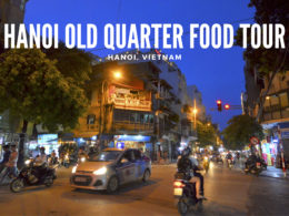 hanoi old quarter food tour