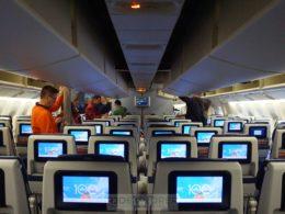 klm flight to amsterdam