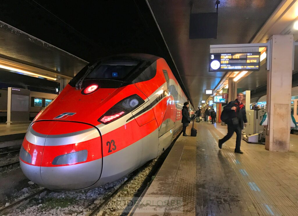 venice to milan train
