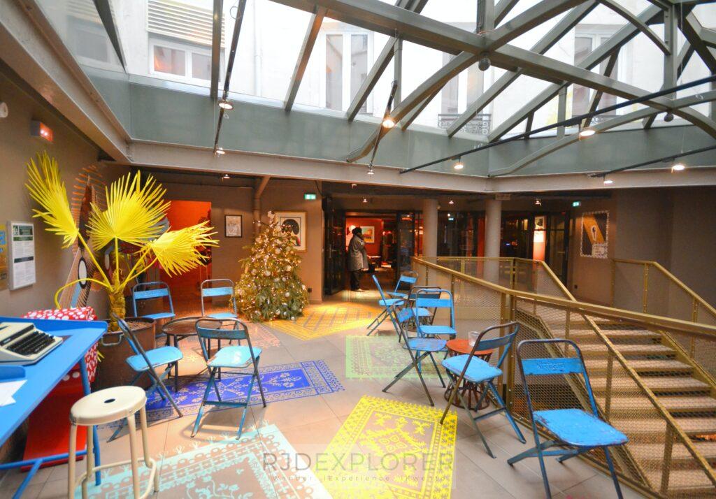 25hours hotel terminus nord mezzanine floor