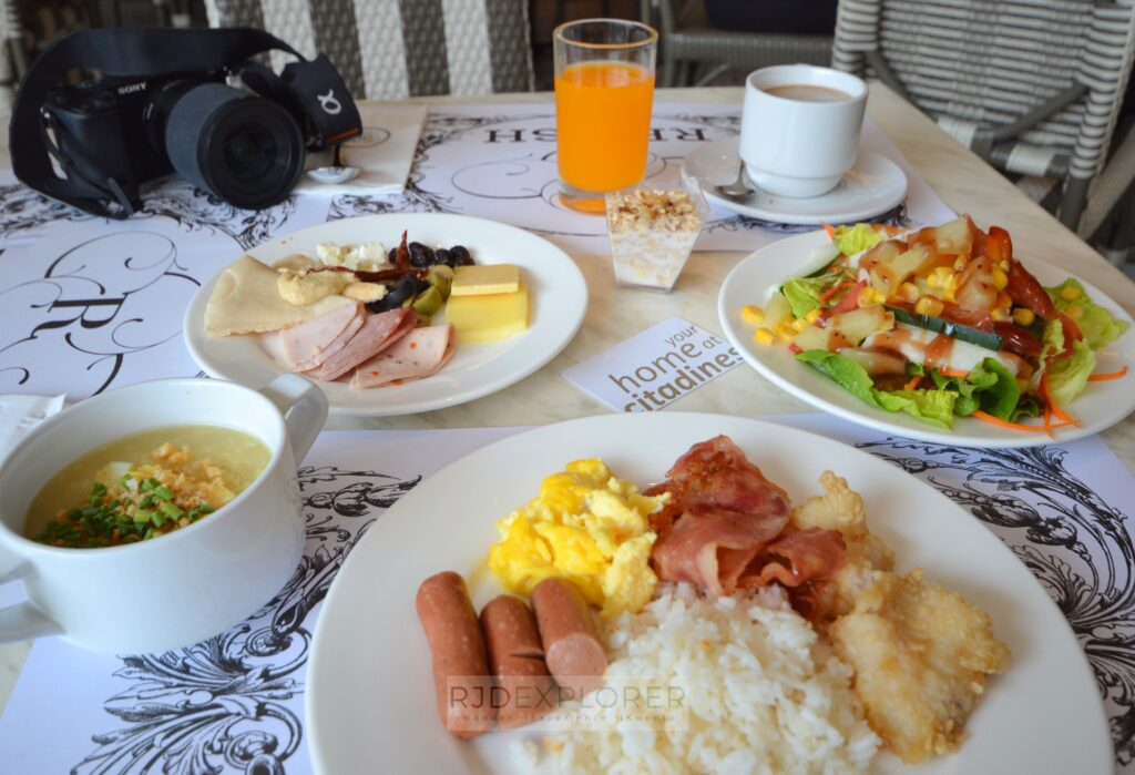 citadines millennium ortigas breakfast on relish luxe cafe