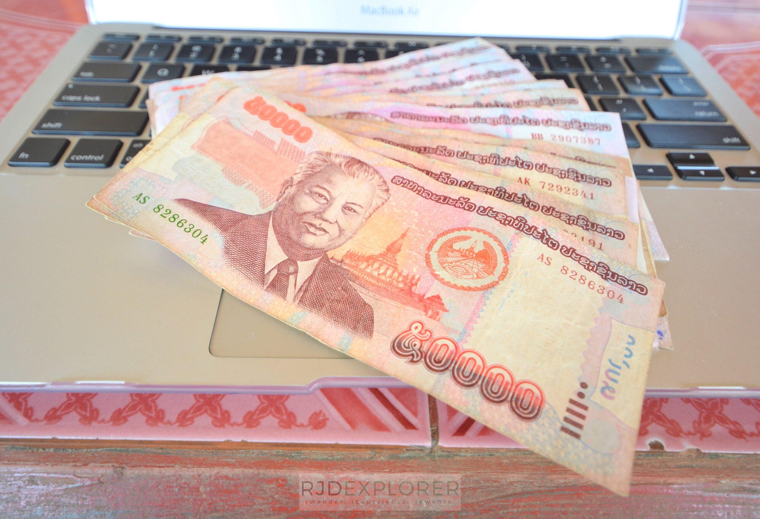 laos itinerary diy lao kip currency