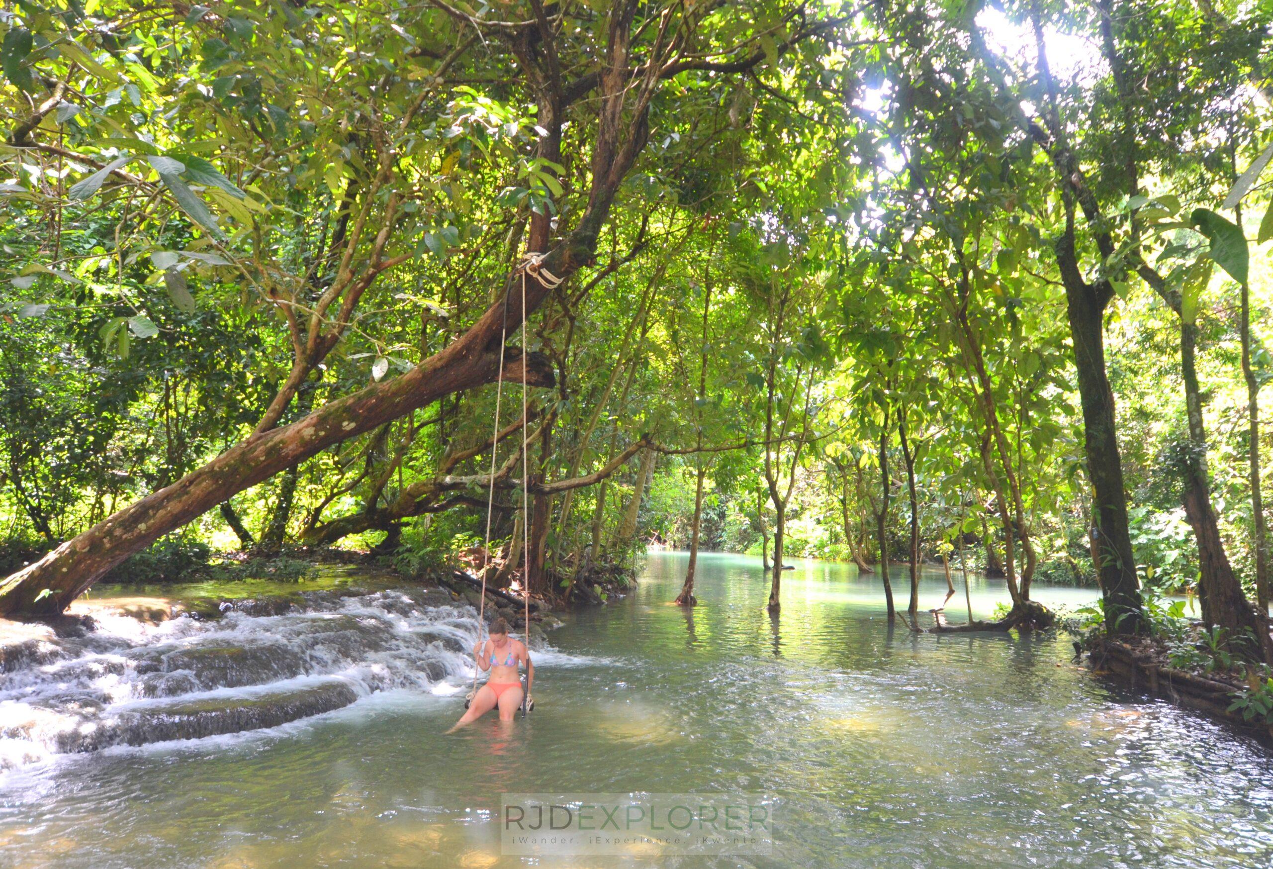 laos itinerary diy kuang si waterfalls