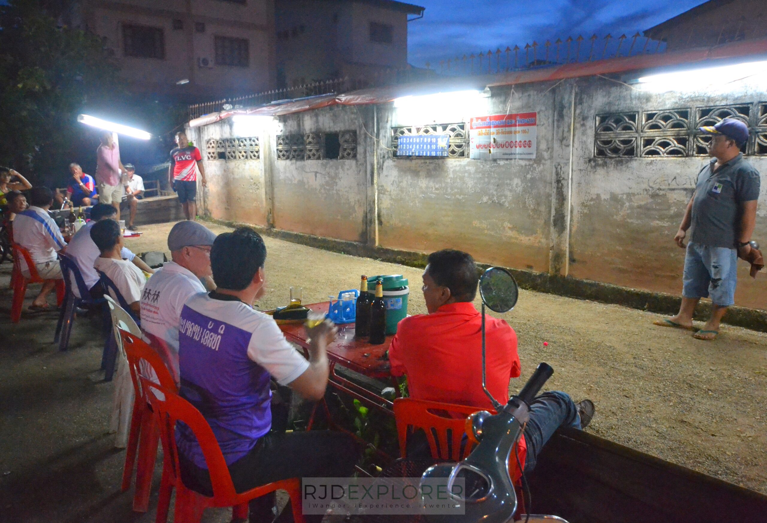 laos itinerary diy petanque